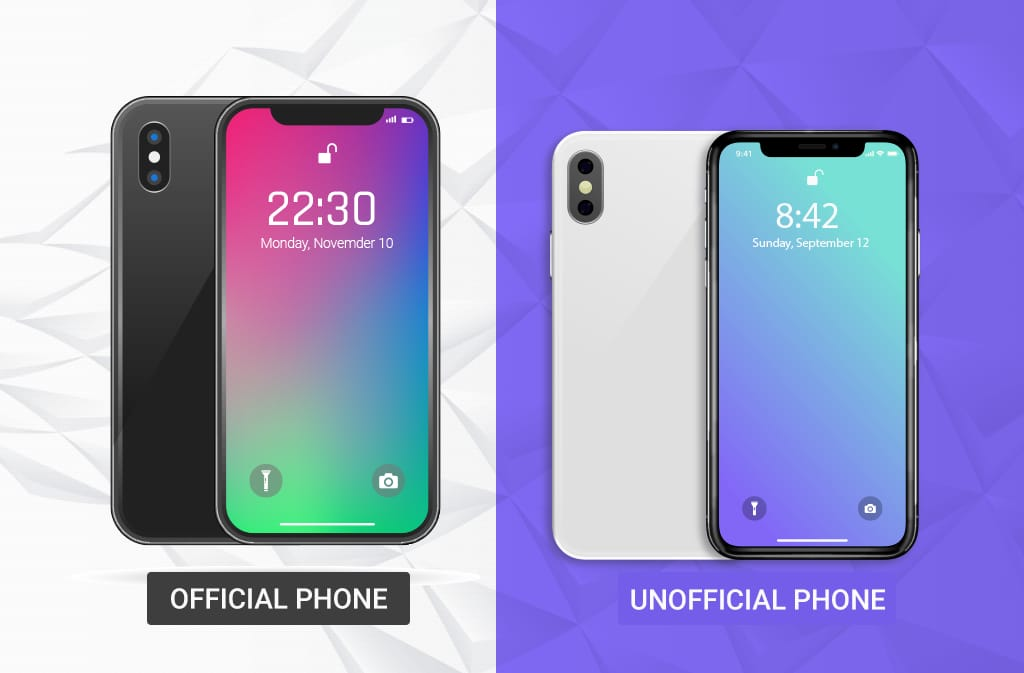 Official Phone or Unofficial Phone