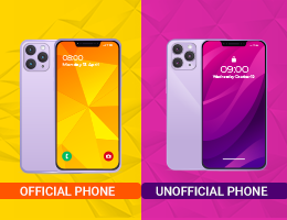 Official Vs Unofficial Phone